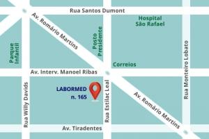Mapa Labormed